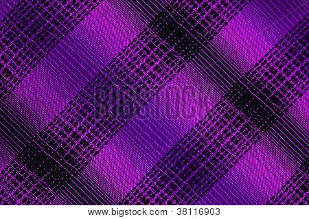 Purple And Black Grille