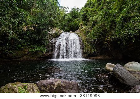 Blue Mountain Waterfall