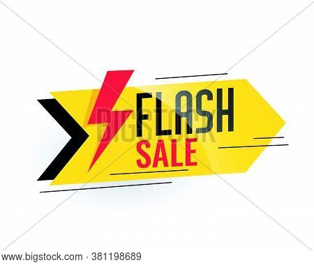 Flash Sale And Discount Banner Design