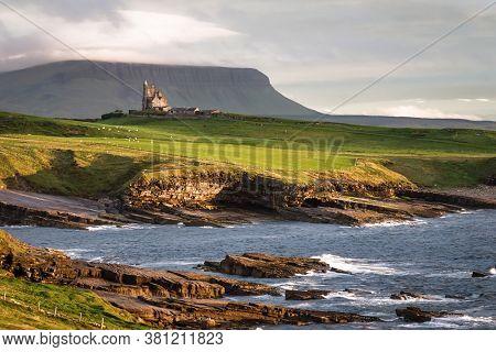 Mullaghmore, Ireland-jul 31, 2020:  Classiebawn Castle In Mullaghmore County Sligo Ireland