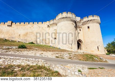 The Fort Saint Andre Is A Medieval Fortress In Avignon City Southern France