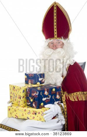 Sinterklaas And Presents