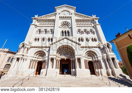 Saint Nicholas Monaco Cathedral Or Cathedral Of Our Lady Immaculate Is The Roman Catholic Cathedral