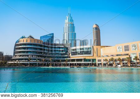 Dubai, Uae - February 24, 2019: The Dubai Mall Is The Second Largest Shopping Mall In The World Loca