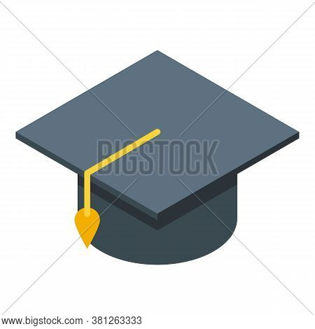 Student Graduated Subsidy Icon. Isometric Of Student Graduated Subsidy Vector Icon For Web Design Is