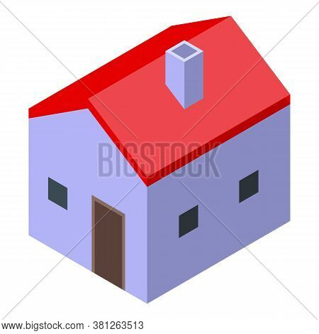Subsidy Home Icon. Isometric Of Subsidy Home Vector Icon For Web Design Isolated On White Background