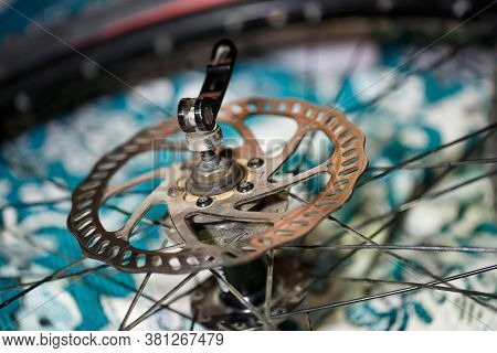 Bicycle Disc Brake .rear Disc Brake On Mountain Bike . Visit My Portfolio To See Other Photos Of Bic