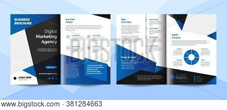 Creative Corporate Business Brochure Template. Corporate Business Flyer Template.