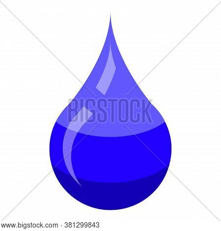 Diaper Water Absorb Icon. Isometric Of Diaper Water Absorb Vector Icon For Web Design Isolated On Wh