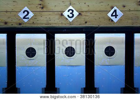 Three Rifle Target