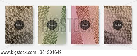 Gradient Zig Zag Stripes Texture Vector Backgrounds For   Annual Reports. Digital Zig Zag Gradient L