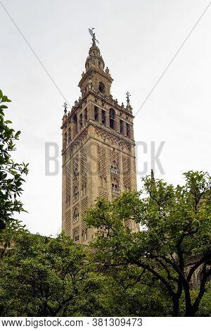 Catholic Cathedral Of Saint Mary, Catedral De Santa Maria De La Sede In Seville, Andalusia, Spain