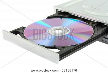 Opening Cd-rom Drive With Disk