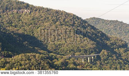 Viaduct Over The Valley Of The Sun In The City Of Santa Maria Rs Brazil