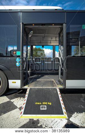 Otobüs rampa devre dışı bırakma