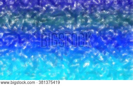 Blue Low Coverage Pastel Background, Digitally Created.