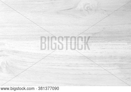 White Wooden Wall Texture Background, Top-down Of Wooden Floor For A White Background, Pattern And W