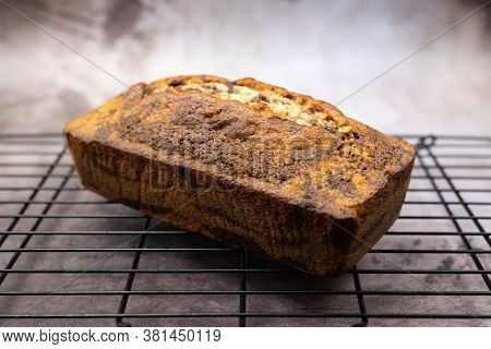 Homemade Marble Chocolate Pound Cake Or Loaf Bread