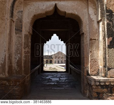 Gwalior, Madhya Pradesh/india - March 15, 2020 : British Gun Powder Factory In Gwalior Fort