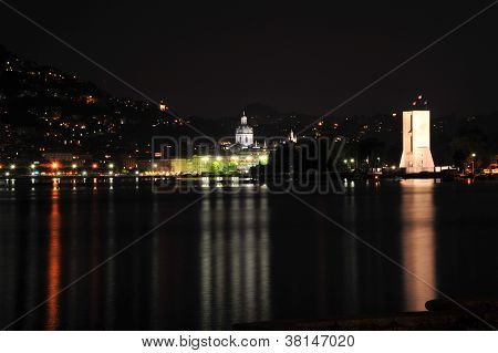 Como Night City View