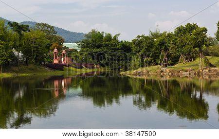 Lake View At Public Park