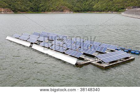 Floating Solar Energy Panels