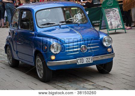 Fiat 600 D Milionaria From 1961