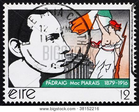 Postage stamp Ireland 1979 Patrick Henry Pearse