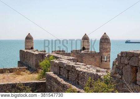 Enikale, Eni-kale-fortress In The Crimea On The Kerch Strait, Built By The Turks In The Early Xviii
