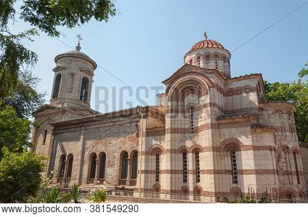 Church Of John The Baptist-a Monument Of Byzantine Art, Orthodox Church, Consecrated In Honor Of Joh