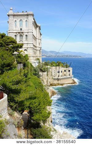 Oceanographic Museum Of Monaco, Founded In 1911 By Prince Albert I.