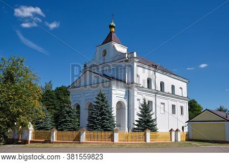 Church Of St. Dmitry Solunsky In Shchorsy, Grodno Region, Belarus.