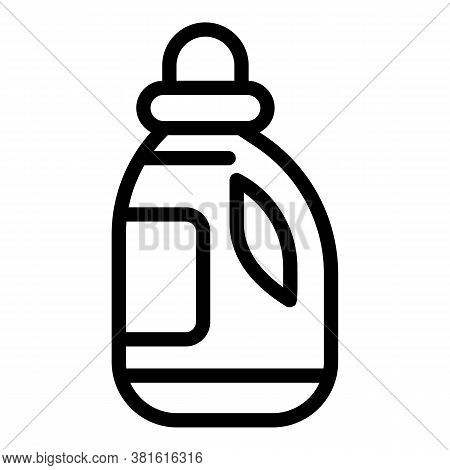 Washing Solution Icon. Outline Washing Solution Vector Icon For Web Design Isolated On White Backgro
