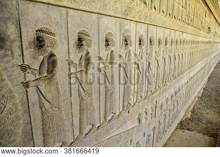 Persepolis / Iran - 30 Sep 2012: Persepolis Is The Capital Of The Ancient Empire In Iran