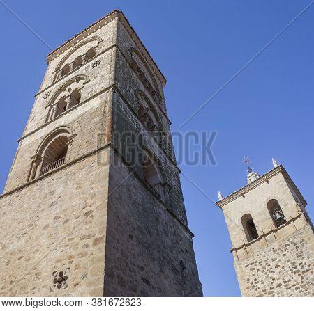 Santa Maria La Mayor Church Towers, Trujillo, Spain