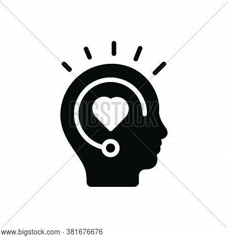 Black Solid Icon For Inspiration Spur Stimulus Encouragement Boost Fillip Incentive Motivation Enthu