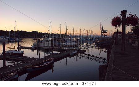 Sunset At Budd Bay