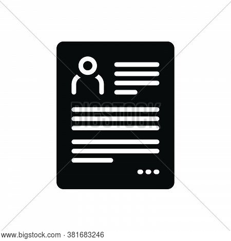 Black Solid Icon For Resume Continue Go-on Proceed Regain Elaboration Summary Reoccupy Detail Expans