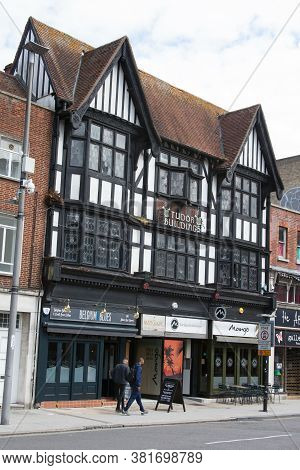 Tudor Buildings On Above Bar Street In Southampton, Hampshire In The Uk, Taken On The 10th July 2020