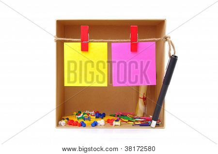 Box With Note And Tool