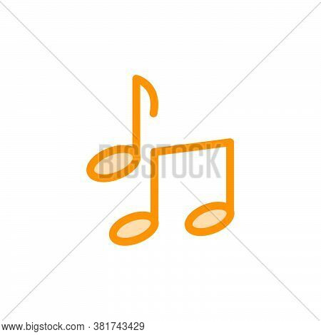 Illustration Vector Graphic Of Music Icon Template