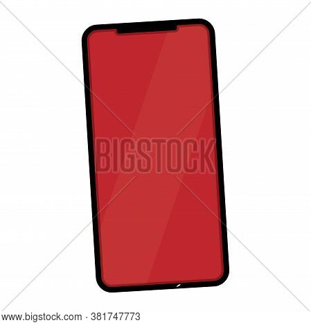 Isolated Smartphone Icon. Mobile Phone. Cell Phone - Vector