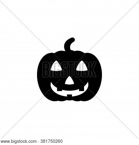 Pictograph Of Halloween Pumpkin For Template Logo, Icon, And Identity Vector Designs.