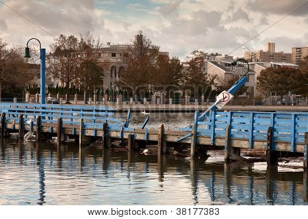 Sheepshead Bay After The Superstorm Sandy