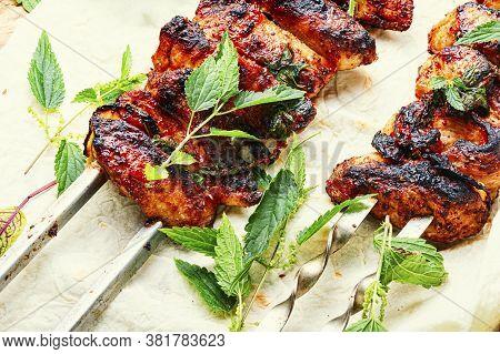 Meat Pork Kebab