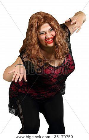 Female Zombie Monster