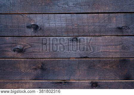 Old Brown Rustic Dark Wooden Texture. Wood Background.