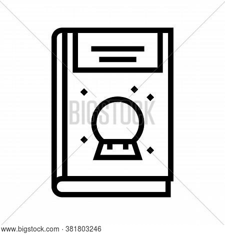 Mystery Genre Line Icon Vector. Mystery Genre Sign. Isolated Contour Symbol Black Illustration