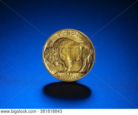 Gold American Buffalo 1 Oz. Coin Used As An Inflation Hedge In Times Of Insecurity