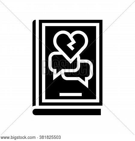 Drama Genre Glyph Icon Vector. Drama Genre Sign. Isolated Contour Symbol Black Illustration